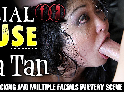 Mika Tan Destroyed On Facial Abuse